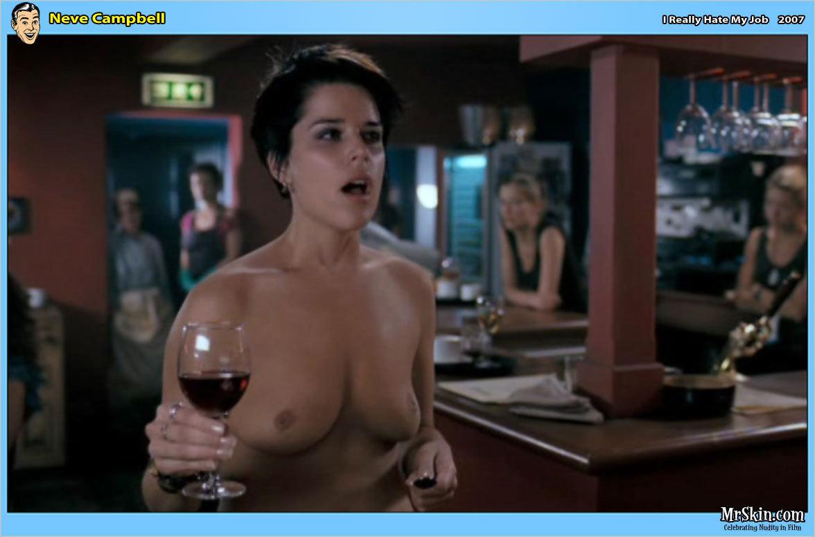 Nude scene on scream really