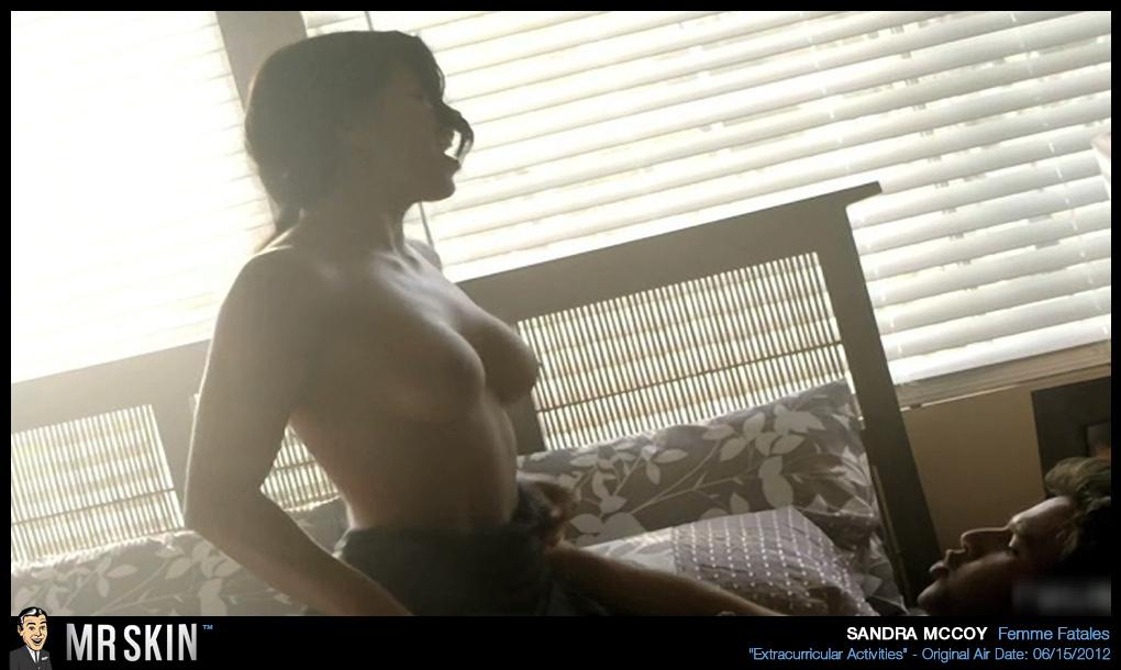 Sandra mccoy naked