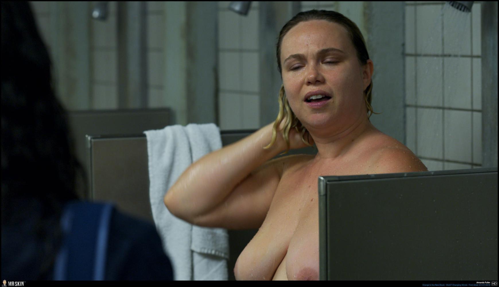 Black 18 Nude tv nudity report: orange is the new black & strange angel