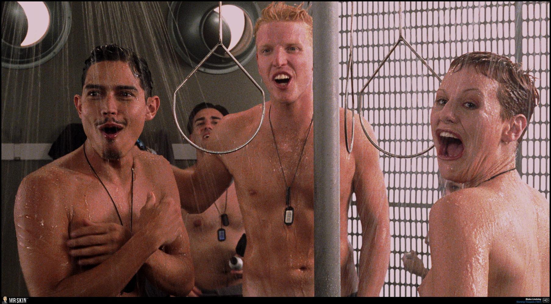 Starship troopers shower scene video