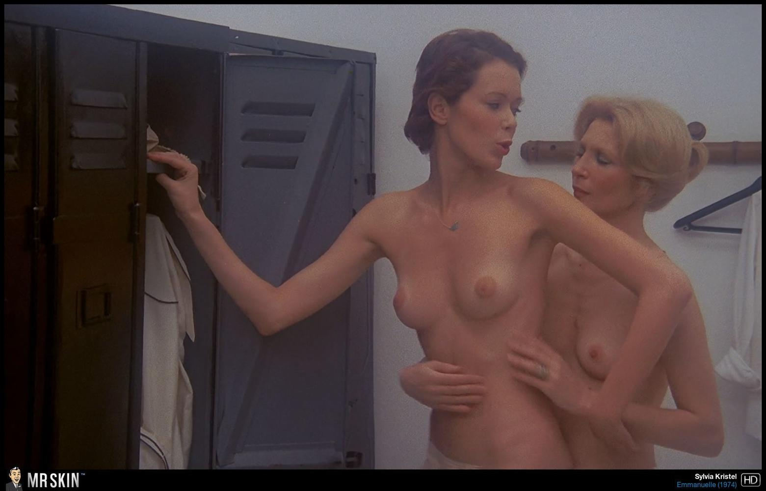 sylvia-kristel-lesbian-nude-red