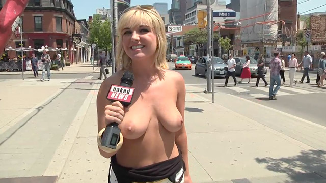 There naked news eila adams