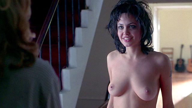 Angelina Jolie By The Sea Nude